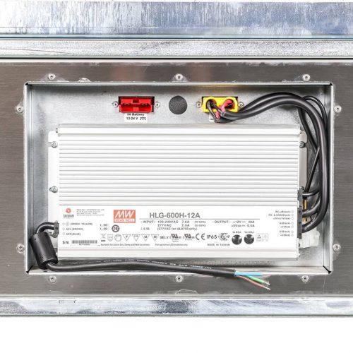 Contenitori refrigerati, trasformatore AC/DC 600w
