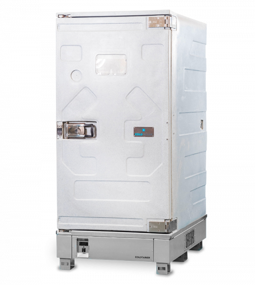 Refrigerated isothermal containers 1640 l