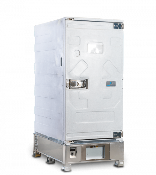 Refrigerated container 1640 liters - Coldtainer F1640 - Standard