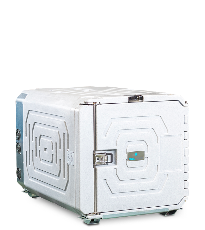 Refrigerated container 720 liters - Coldtainer F0720 - AuO