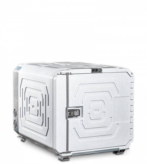 Refrigerated isothermal containers 720 l
